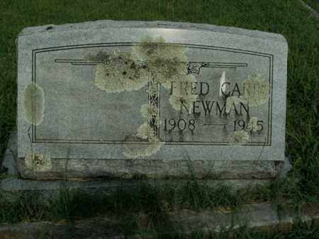 NEWMAN, FRED CARR - Boone County, Arkansas | FRED CARR NEWMAN - Arkansas Gravestone Photos
