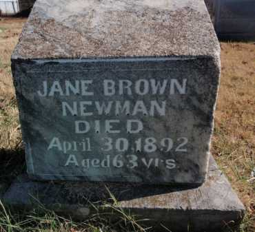 NEWMAN, JANE - Boone County, Arkansas | JANE NEWMAN - Arkansas Gravestone Photos