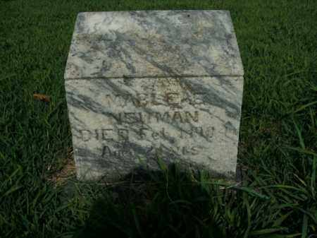 NEWMAN, MABLE ELIZABETH - Boone County, Arkansas | MABLE ELIZABETH NEWMAN - Arkansas Gravestone Photos