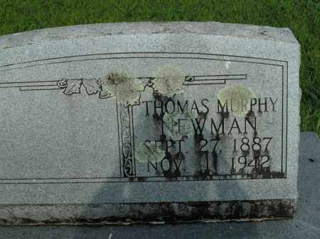 NEWMAN, THOMAS MURPHY - Boone County, Arkansas | THOMAS MURPHY NEWMAN - Arkansas Gravestone Photos