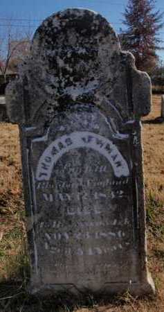 NEWMAN, THOMAS - Boone County, Arkansas | THOMAS NEWMAN - Arkansas Gravestone Photos
