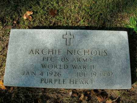 NICHOLS  (VETERAN WWII), ARCHIE - Boone County, Arkansas | ARCHIE NICHOLS  (VETERAN WWII) - Arkansas Gravestone Photos