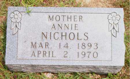 NICHOLS, ANNIE - Boone County, Arkansas | ANNIE NICHOLS - Arkansas Gravestone Photos