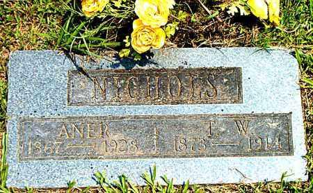 NICHOLS, ANER - Boone County, Arkansas | ANER NICHOLS - Arkansas Gravestone Photos