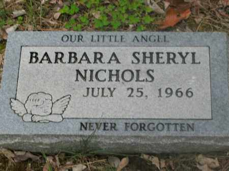 NICHOLS, BARBARA SHERYL - Boone County, Arkansas | BARBARA SHERYL NICHOLS - Arkansas Gravestone Photos