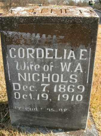 NICHOLS, CORDELIA E. - Boone County, Arkansas | CORDELIA E. NICHOLS - Arkansas Gravestone Photos