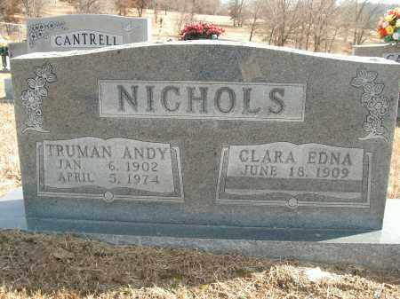 NICHOLS, TRUMAN ANDY - Boone County, Arkansas | TRUMAN ANDY NICHOLS - Arkansas Gravestone Photos