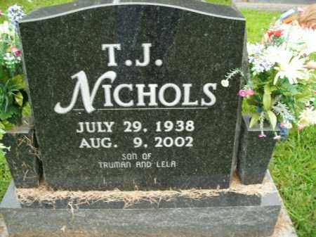 NICHOLS, T.J. - Boone County, Arkansas | T.J. NICHOLS - Arkansas Gravestone Photos