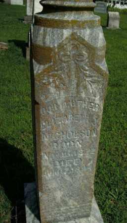 NICHOLSON, ELIZABETH J. - Boone County, Arkansas | ELIZABETH J. NICHOLSON - Arkansas Gravestone Photos