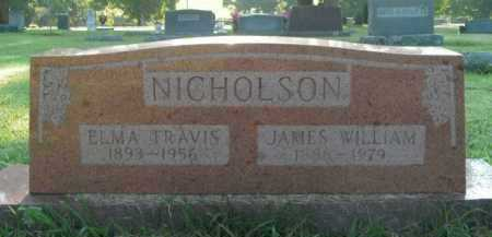 NICHOLSON, JAMES WILLIAM - Boone County, Arkansas | JAMES WILLIAM NICHOLSON - Arkansas Gravestone Photos