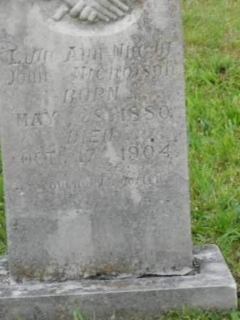 NICHOLSON, LULA ANN - Boone County, Arkansas | LULA ANN NICHOLSON - Arkansas Gravestone Photos