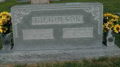 NICHOLSON, WILLIAM NEWTON - Boone County, Arkansas | WILLIAM NEWTON NICHOLSON - Arkansas Gravestone Photos