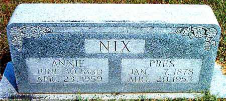 NIX, PRES - Boone County, Arkansas | PRES NIX - Arkansas Gravestone Photos