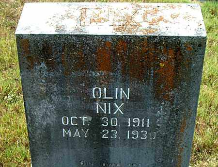 NIX, OLIN - Boone County, Arkansas | OLIN NIX - Arkansas Gravestone Photos