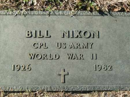 NIXON  (VETERAN WWII), BILL - Boone County, Arkansas | BILL NIXON  (VETERAN WWII) - Arkansas Gravestone Photos