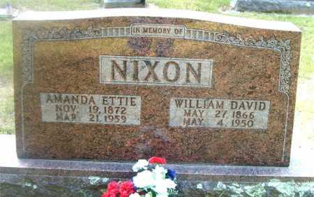 NIXON, WILLIAM DAVID - Boone County, Arkansas | WILLIAM DAVID NIXON - Arkansas Gravestone Photos