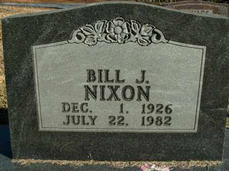 NIXON, BILL J. - Boone County, Arkansas | BILL J. NIXON - Arkansas Gravestone Photos