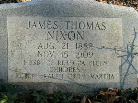NIXON, JAMES THOMAS - Boone County, Arkansas | JAMES THOMAS NIXON - Arkansas Gravestone Photos