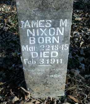 NIXON, JAMES M. - Boone County, Arkansas | JAMES M. NIXON - Arkansas Gravestone Photos