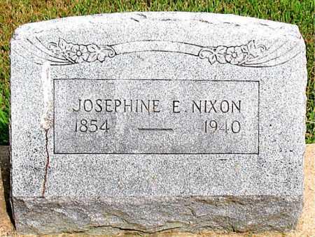 NIXON, JOSEPHINE E - Boone County, Arkansas | JOSEPHINE E NIXON - Arkansas Gravestone Photos
