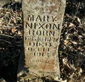 NIXON, MARY - Boone County, Arkansas | MARY NIXON - Arkansas Gravestone Photos