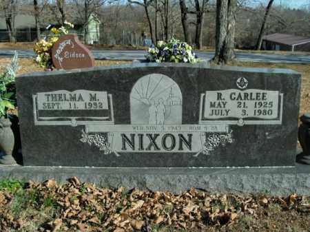 NIXON, R.CARLEE - Boone County, Arkansas | R.CARLEE NIXON - Arkansas Gravestone Photos
