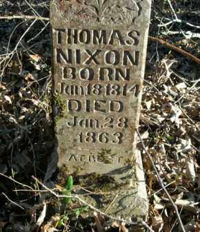 NIXON, THOMAS - Boone County, Arkansas | THOMAS NIXON - Arkansas Gravestone Photos