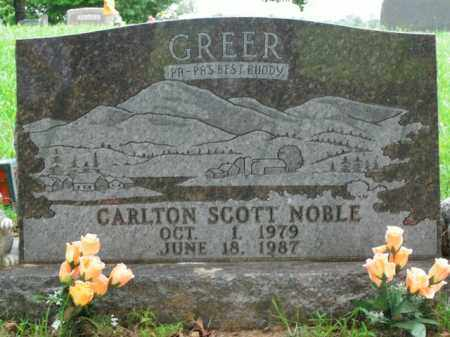 NOBLE, CARLTON SCOTT - Boone County, Arkansas   CARLTON SCOTT NOBLE - Arkansas Gravestone Photos