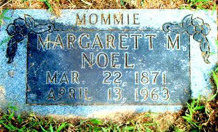 NOEL, MARGARETT  M. - Boone County, Arkansas | MARGARETT  M. NOEL - Arkansas Gravestone Photos