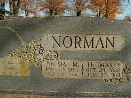 NORMAN, THOMAS P. - Boone County, Arkansas | THOMAS P. NORMAN - Arkansas Gravestone Photos