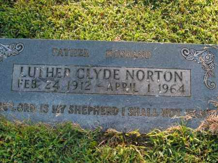 NORTON, LUTHER CLYDE - Boone County, Arkansas | LUTHER CLYDE NORTON - Arkansas Gravestone Photos