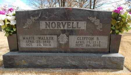 NORVELL, CLIFTON  S. - Boone County, Arkansas | CLIFTON  S. NORVELL - Arkansas Gravestone Photos