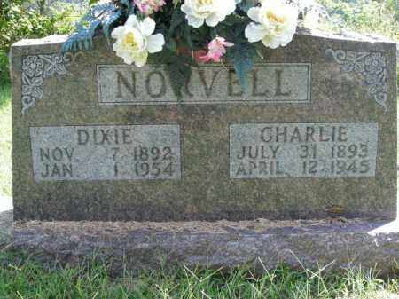 NORVELL, DIXIE - Boone County, Arkansas | DIXIE NORVELL - Arkansas Gravestone Photos
