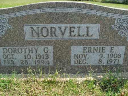 NORVELL, DOROTHY G. - Boone County, Arkansas | DOROTHY G. NORVELL - Arkansas Gravestone Photos