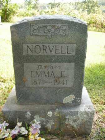 SANSING NORVELL, EMMA E. - Boone County, Arkansas | EMMA E. SANSING NORVELL - Arkansas Gravestone Photos