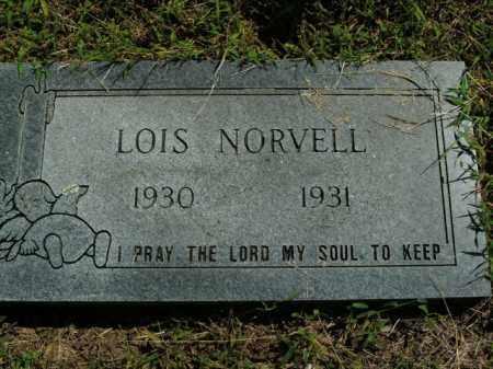 NORVELL, LOIS - Boone County, Arkansas | LOIS NORVELL - Arkansas Gravestone Photos