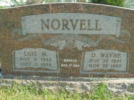 NORVELL, LOIS M. - Boone County, Arkansas | LOIS M. NORVELL - Arkansas Gravestone Photos