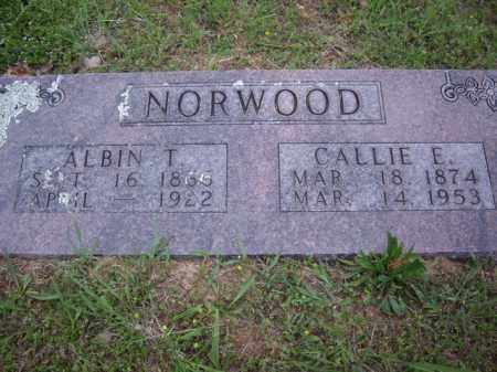 NORWOOD, CALLIE E. - Boone County, Arkansas | CALLIE E. NORWOOD - Arkansas Gravestone Photos