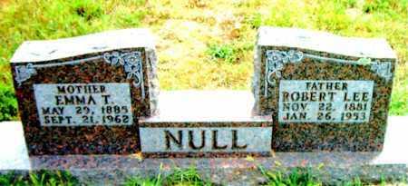 NULL, EMMA T - Boone County, Arkansas | EMMA T NULL - Arkansas Gravestone Photos