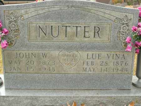 NUTTER, JOHN W. - Boone County, Arkansas | JOHN W. NUTTER - Arkansas Gravestone Photos
