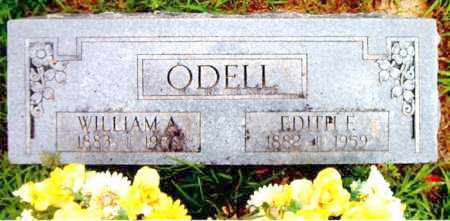 ODELL, WILLIAM  A. - Boone County, Arkansas | WILLIAM  A. ODELL - Arkansas Gravestone Photos