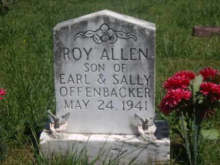 OFFENBACKER, ROY ALLEN - Boone County, Arkansas | ROY ALLEN OFFENBACKER - Arkansas Gravestone Photos