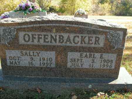 OFFENBACKER, SALLY - Boone County, Arkansas | SALLY OFFENBACKER - Arkansas Gravestone Photos