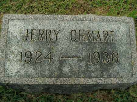 OHMART, JERRY - Boone County, Arkansas | JERRY OHMART - Arkansas Gravestone Photos