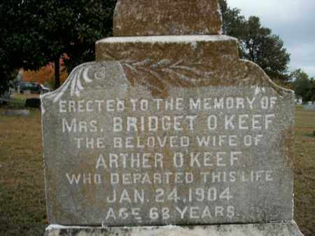 O'KEEF, BRIDGET - Boone County, Arkansas | BRIDGET O'KEEF - Arkansas Gravestone Photos