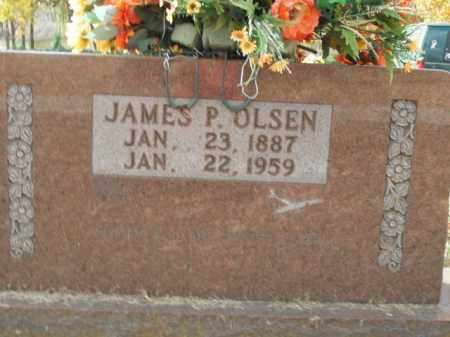 OLSEN, JAMES P. - Boone County, Arkansas | JAMES P. OLSEN - Arkansas Gravestone Photos