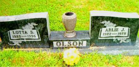 OLSON, ARLIE  J. - Boone County, Arkansas | ARLIE  J. OLSON - Arkansas Gravestone Photos