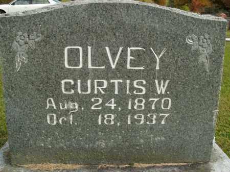 OLVEY, CURTIS WISEMAN - Boone County, Arkansas | CURTIS WISEMAN OLVEY - Arkansas Gravestone Photos