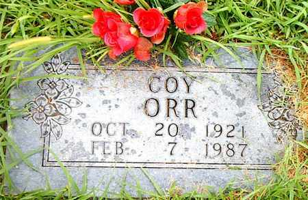 ORR, COY - Boone County, Arkansas | COY ORR - Arkansas Gravestone Photos
