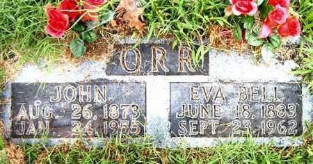 ORR, EVA BELL - Boone County, Arkansas | EVA BELL ORR - Arkansas Gravestone Photos
